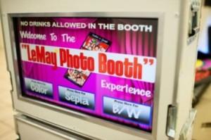 custom photo booth screen